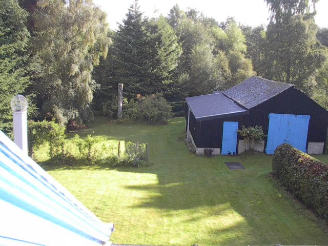 Garden at Craignay Self catering cottage in Cairngorms National Park, Scotland