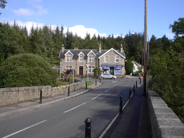 Post Office and Village Store Dulnain Bridge